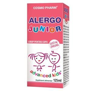 Advanced Kids Sirop Alergo Junior Cosmo Pharm 125ml