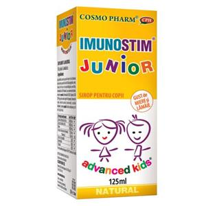 Advanced Kids Sirop Imunostim Junior Cosmo Pharm 125ml