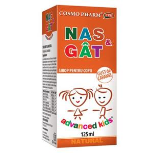 Advanced Kids Sirop Nas si Gat Cosmo Pharm 125ml