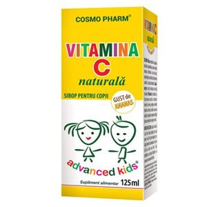 Advanced Kids Sirop Vitamina C Cosmo Pharm 125ml