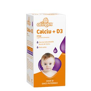 Alinan Sirop Calciu + D3 Fiterman 150ml