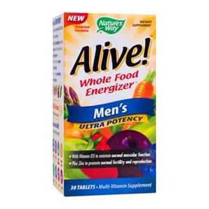 Alive Men's Ultra 30cps Nature's Way Secom
