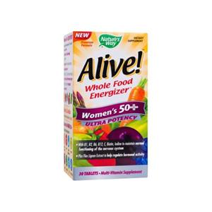Alive Women's 50+ Ultra 30cps Nature's Way Secom