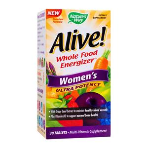 Alive Women's Ultra 30tb Nature's Way Secom