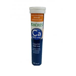 Calciu 500mg Beres 20cpr