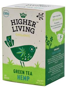 Ceai Verde Hemp Bio 20plicuri Higher Living