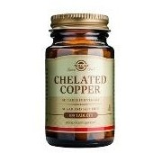 Chelated Copper (Cupru Chelat) Solgar 100tbl