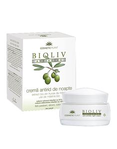Crema Antirid de Noapte Bioliv Antiaging 50ml