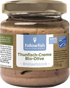 Crema de Ton cu Masline Bio 115gr Followfish