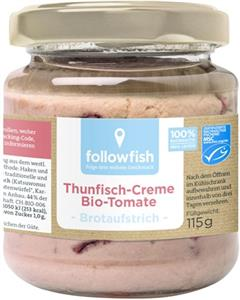 Crema de Ton cu Tomate Bio 115gr Followfish