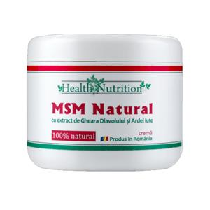 Crema Naturala MSM 200ml Health Nutrition