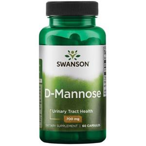 D-Mannose 700mg 60cps Swanson