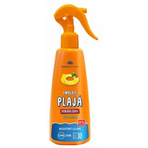 Emulsie Plaja Spray Copii SPF 30 Cosmetic Plant 200ml