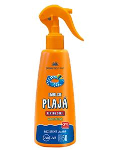 Emulsie Plaja Spray Copii SPF 50 Cosmetic Plant 200ml
