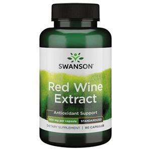 Extract de Vin Rosu SW - Red Wine Extract 500 mg Medical District 90cps