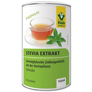 Extract Solubil de Pulbere Premium Stevia 50gr Raab