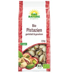 Fistic Bio Prajit si Sarat in Coaja One Nature 150gr