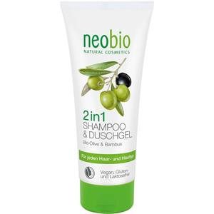 Gel de Dus si Sampon 2 in 1 Bio 200ml Neobio