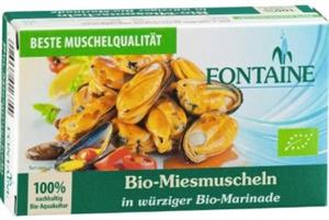 Midii in Sos Picant Bio 120gr Fontain