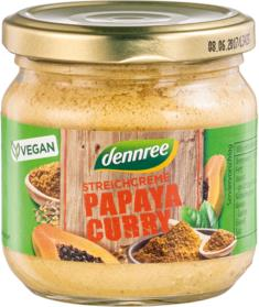 Pate Bio Vegetal cu Papaya si Curry Dennree 180gr