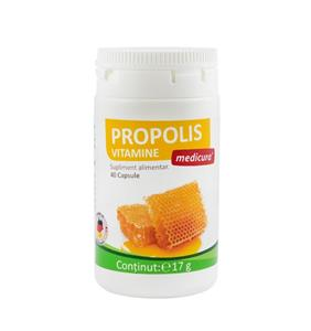 Propolis Plus Vitamine 40cps Medicura