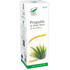 Propolis si Aloe Vera Spray 50ml Medica