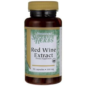 Red Wine Extract 500mg Swanson 90cps
