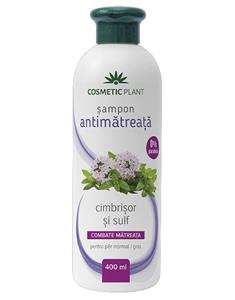 Sampon Antimatreata cu Cimbrisor si Sulf 400ml Cosmetic Plant