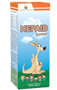 Sirop Hepaid Junior Sun Wave Pharma 100ml