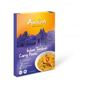 Sos Curry Indian Tandoori Bio Amaizin 80gr