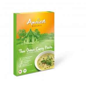 Sos Curry Verde Thai Bio Amaizin 80gr