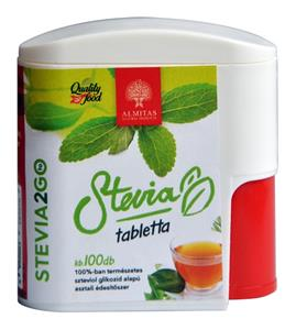 Stevia Indulcitor Natural Vitaking 100cpr