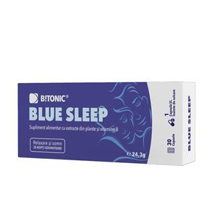 Supliment Alimentar Blue Sleep 30 capsule B!tonic