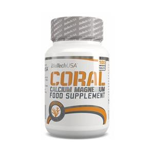 Supliment Alimentar Coral Calcium 100cps Bio Tech USA