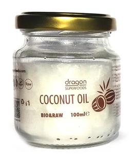 Ulei de Cocos Virgin Presat la Rece Bio Dragon Superfoods 100ml
