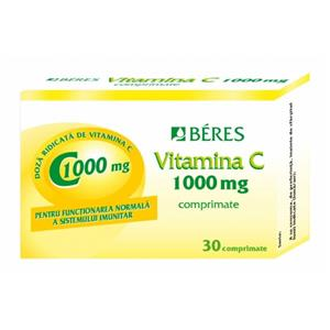 Vitamina C 1000mg Beres 30cpr