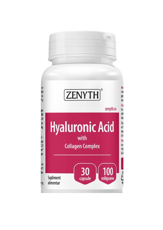 Acid Hyaluronic With Collagen Complex 30cps Zenyth