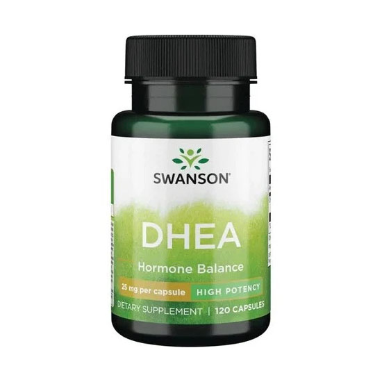 DHEA 25mg 120cps Swanson