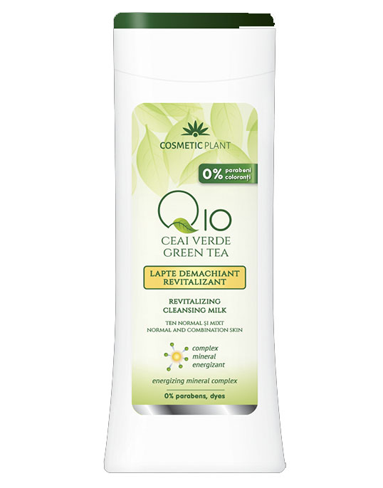 Lapte Demachiant Antirid Q10 si Mineral Complex 200ml Cosmetic Plant