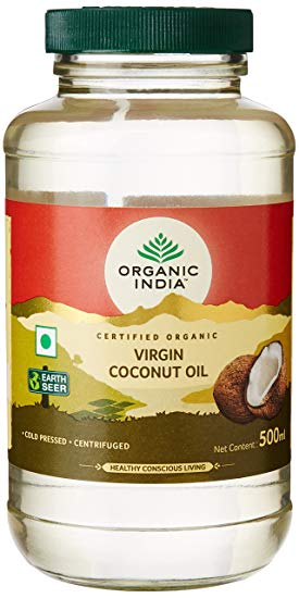 Ulei de Cocos Virgin Presat la Rece Bio 500ml Organic India